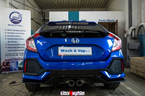 Wash & Vap - Honda Civic X 8